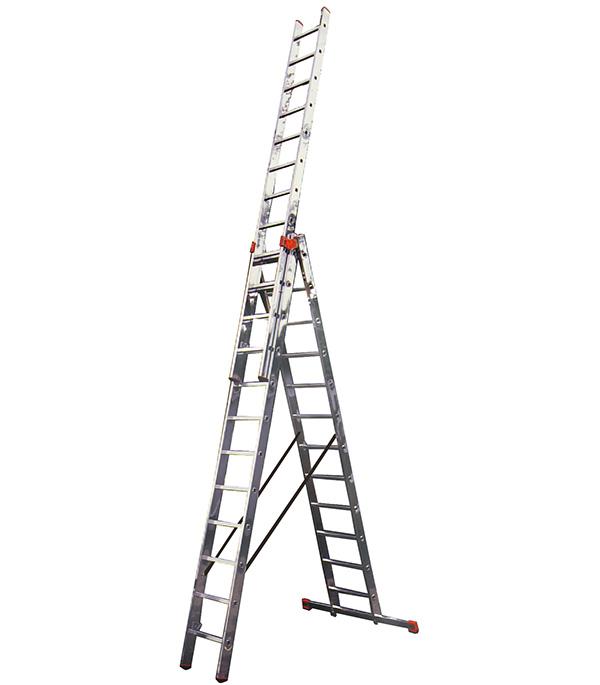 цены Лестница Krause 3-х секционная профессиональная 3х12