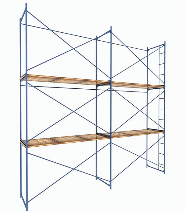Леса строительные 6х6 м каркас сталь рабочая высота 6 м 36 кв.м