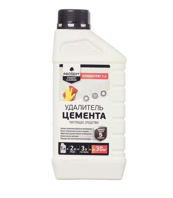 цены Средство для удаления цемента PROSEPT CEMENT CLEANER концентрат 1:2 1 л