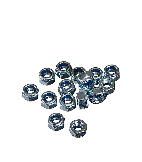 Гайки самостопорящиеся оцинкованные М5 мм DIN 985 (200 шт) silicone induction air intake pipe hose fit for honda civic dc2 acura integra civic type r b16a b18c red
