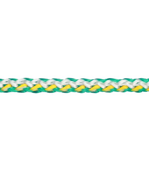 Плетеный шнур цветной d6 мм полипропиленовый, повышенной плотности 15 м