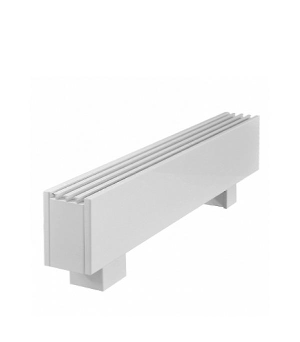 Конвектор напольный Элегант Мини 130х130х1500 с 2 медно-алюминиевыми теплообменниками КЗТО