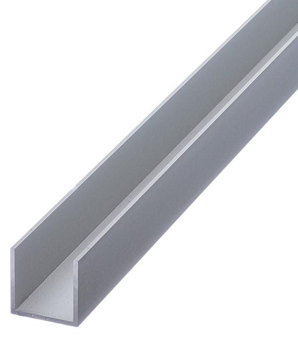 Профиль U-образный алюминиевый 20х20х20х1,5х2000 мм анодированный arlight алюминиевый профиль box60 side 2000 anod