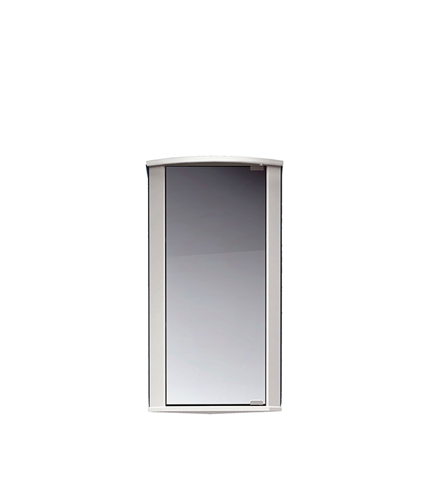 Зеркальный шкаф MITTE Микро 295 мм угловой белый