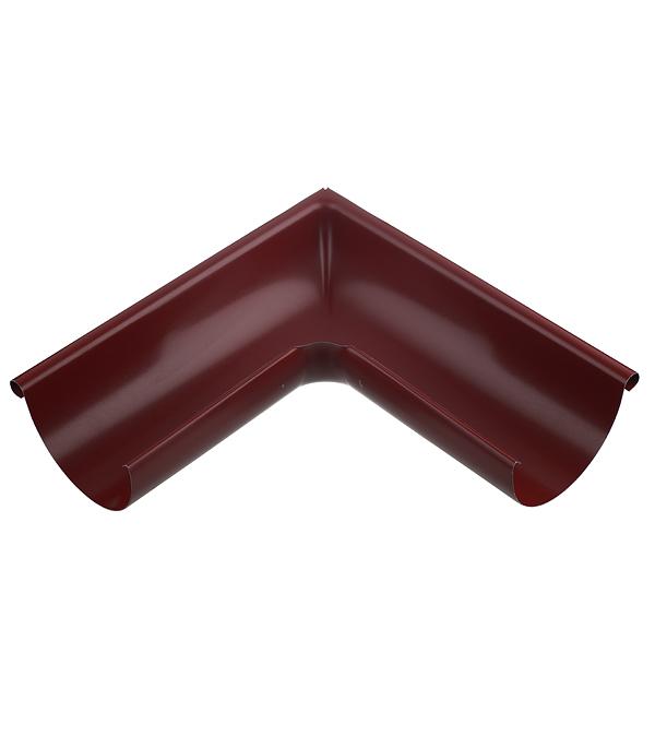 Купить Угол желоба внешний Grand Line 125/90° красное вино металлический, Красное вино, Металл