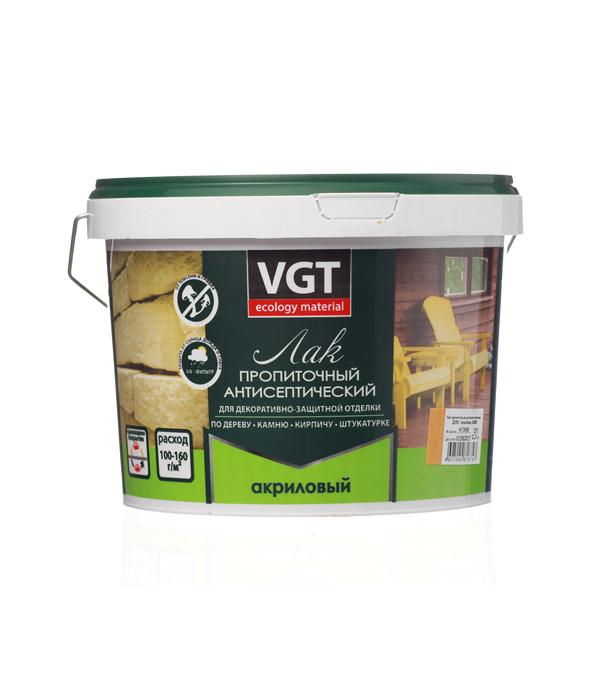 Лак антисептик акриловый VGT дуб 2,2 кг все цены