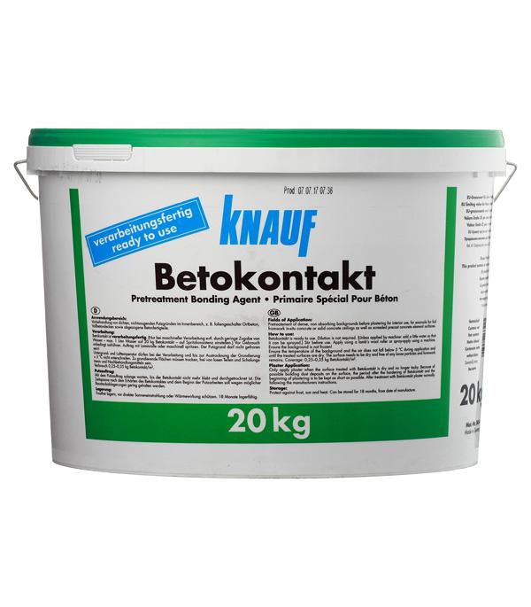 Купить Бетоконтакт Кнауф 20 кг, Knauf, Оранжевый