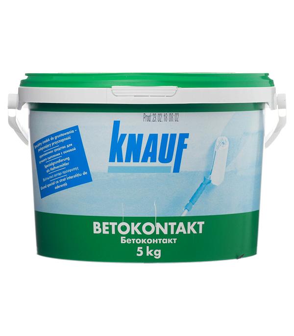 Купить Бетоконтакт Кнауф 5 кг, Knauf, Оранжевый