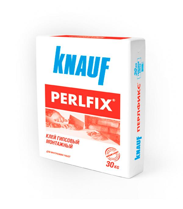 Клей гипсовый монтажный Knauf Perlfix 30 кг гкл knauf 3000х1200х12 5мм