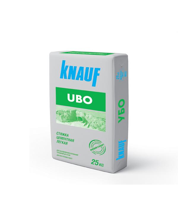 цена на Стяжка пола Knauf УБО цементная легкая 25 кг