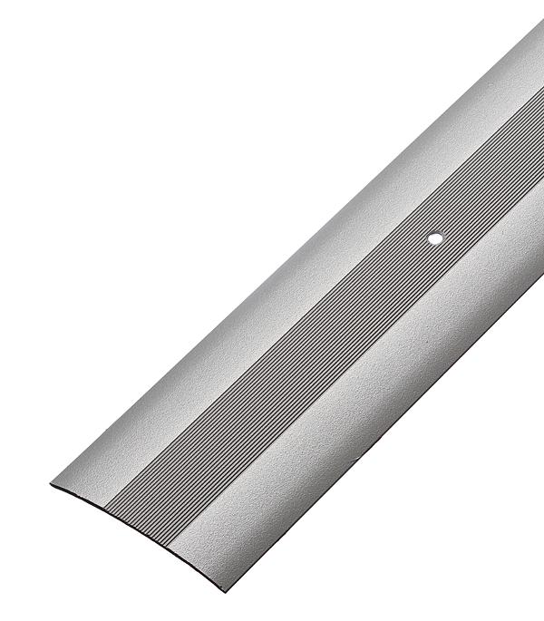 Порог стыкоперекрывающий 60х900 мм Серебро