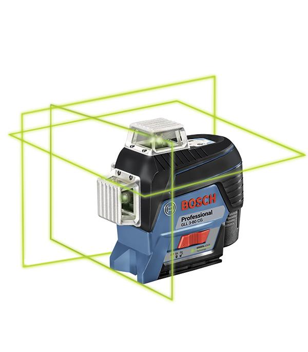 Нивелир лазерный Bosch GLL 3-80CG Professional с держателем BM1