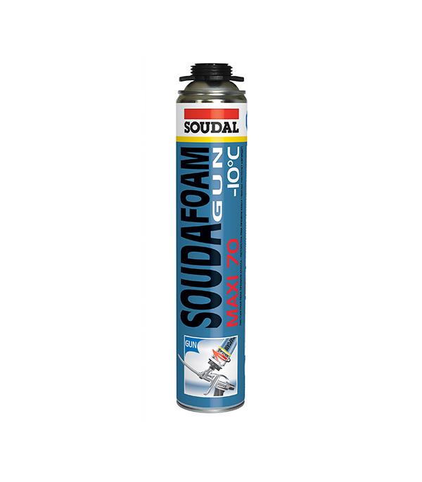 Пена монтажная Soudal Maxi 70 профессиональная зимняя 750 мл пена монтажная soudal 750 мл