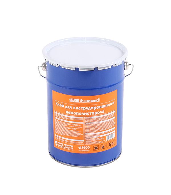 Клей для экструдированного пенополистирола Bitumast 5 л