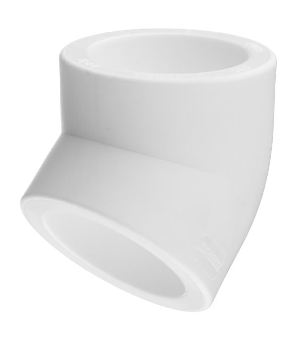 Угол полипропиленовый РТП 63 мм 45° угол полипропиленовый ртп 32х1 нр
