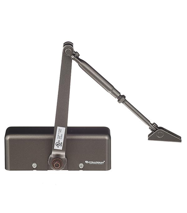 Доводчик дверной Palladium 1045 D 25-45 кг коричневый доводчик palladium 1060 40 60 коричневый