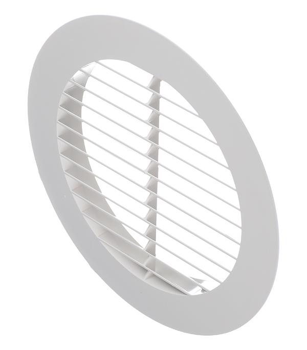 все цены на Вентиляционная решетка наружная круглая пластиковая d200 мм c фланцем d150 мм онлайн