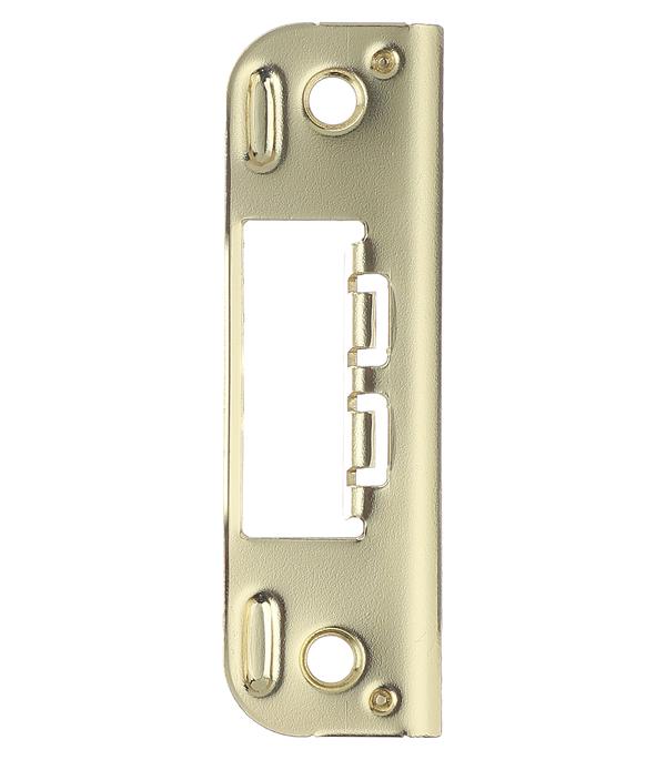 Ответная планка плоская золото защитная планка на стену для безопасного открытия дверей 874493