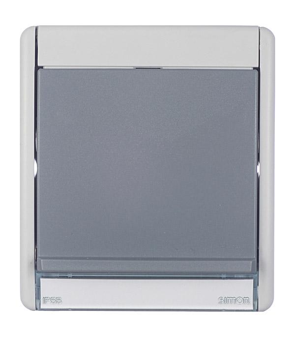 Рамка с открывающейся крышкой под механизмы S27 IP55 S44 Aqua серый подгузники children le ann s44