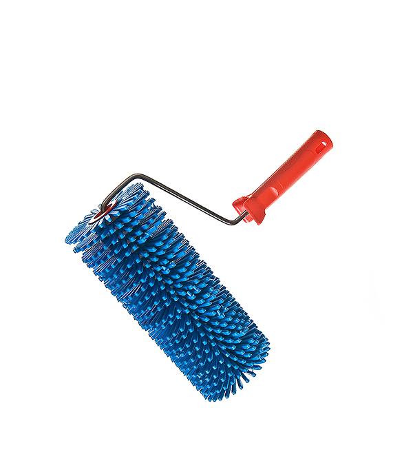 Валик игольчатый 240 мм игла 28 мм с рукояткой валик игольчатый romus 94241