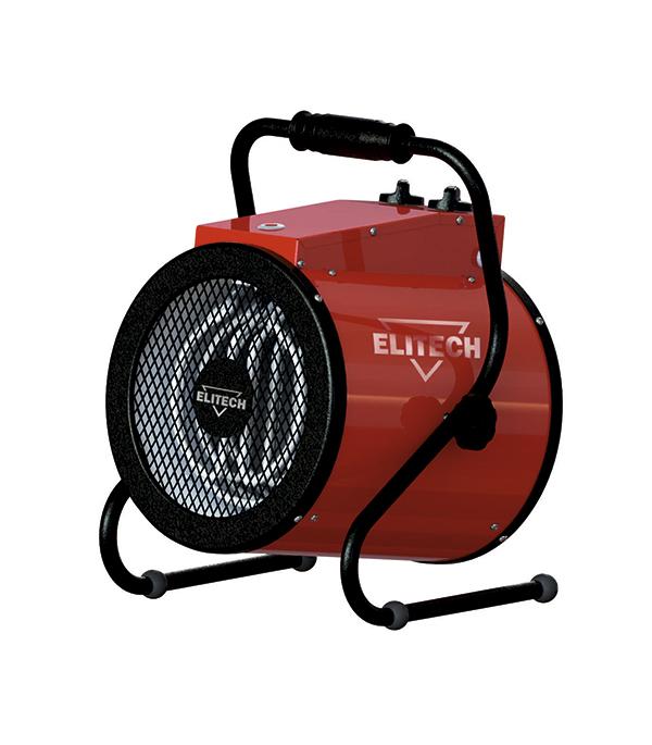Пушка тепловая электрическая Elitech 4,5 кВт 220 В ТВ 5ЕК термопистолет elitech тв 2000жк