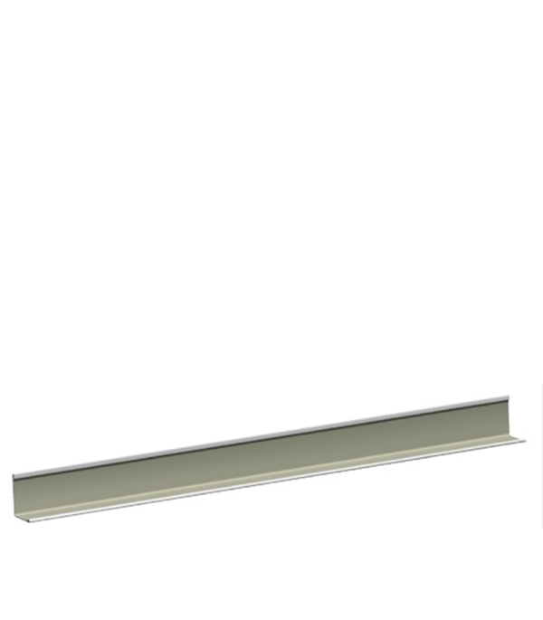 Купить Пристенный кант к подвесному потолку РОКВУЛ Chicago Metallic PL 19х24х3000 мм, Оцинкованная сталь