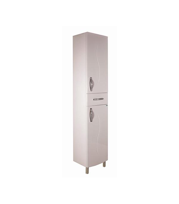 Пенал АСБ-Мебель Грета 400 мм напольный белый мебель для ванной эстет dallas luxe r 120 напольный два ящика белый