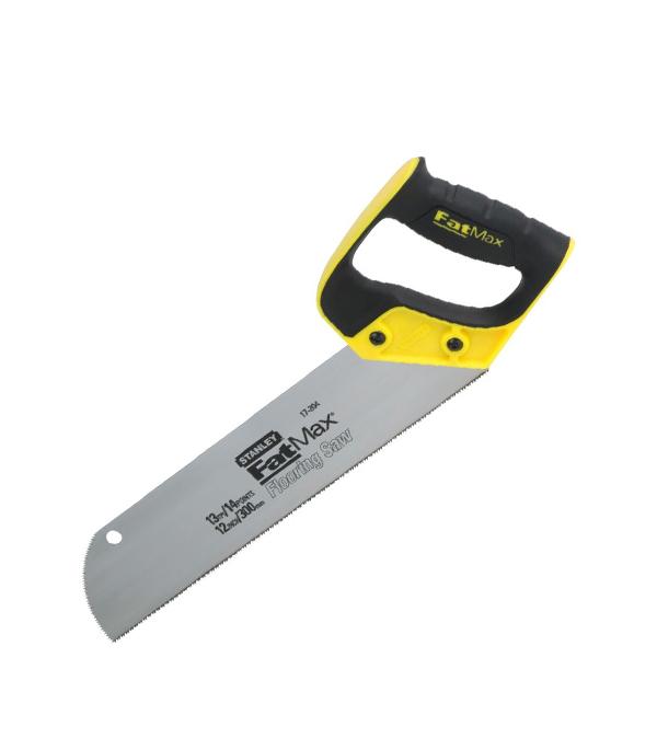 Ножовка по дереву Stanley 300 мм для половой доски мелкий зуб ножовка по металлу stanley 300 мм мелкий зуб