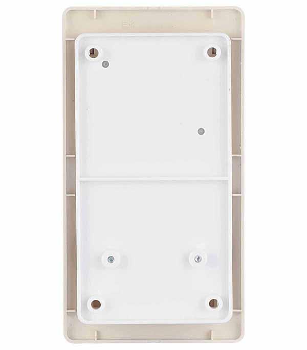 Блок выключателя с розеткой с рамкой Schneider Electric Glossa GSL000274 двухклавишный скрытая установка бежевый с заземлением со шторками фото