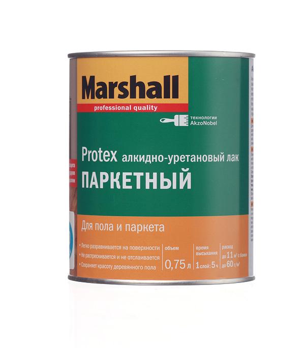 Фото - Лак алкидно-уретановый паркетный Marshall Protex бесцветный 0,75 л матовый лак marshall protex parke cila 40 алкидно уретановый бесцветный 2 5 л