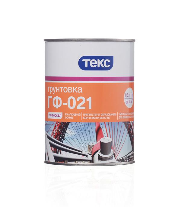 Грунт Текс ГФ-021 серый 1 кг