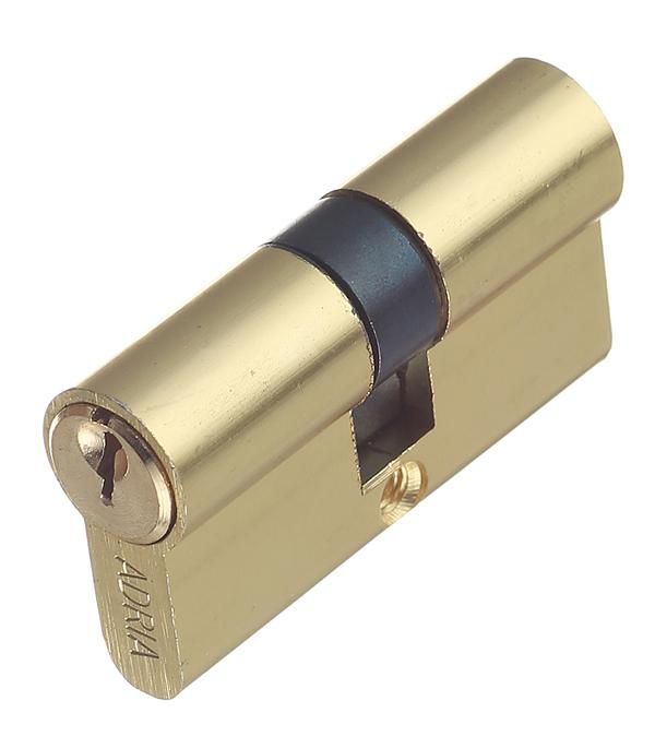 Цилиндр 2018 ключ/ключ 60 мм (золото) цена