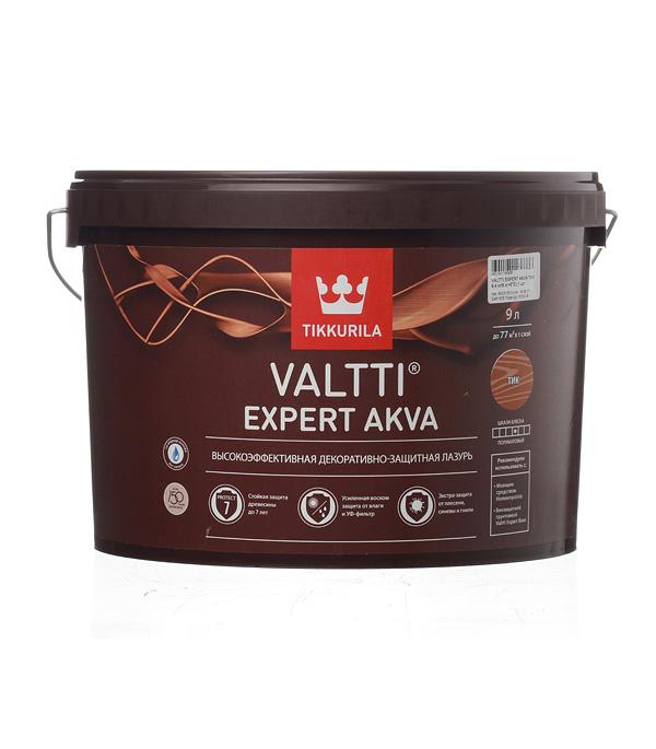 Антисептик Tikkurila Valtti Expert Akva декоративный для дерева тик 9 л стоимость