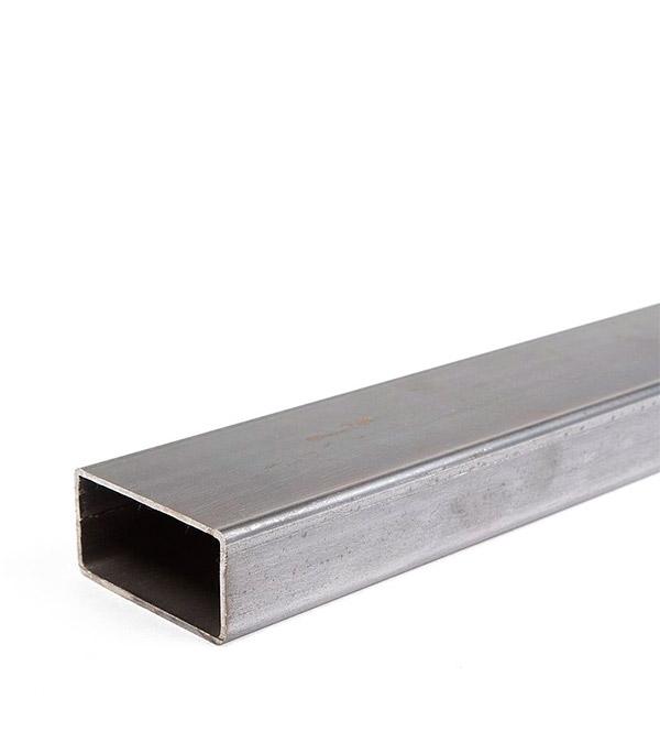 Труба профильная прямоугольная 40х20х2 мм 3 м металлопрокат труба профильная в спб