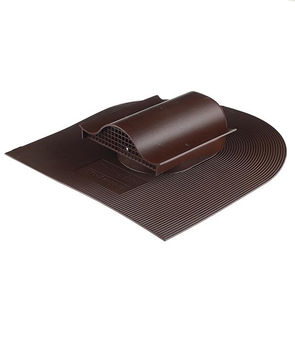 Аэратор Поливент-КТВ-вентиль для гибкой черепицы коричневый стоимость