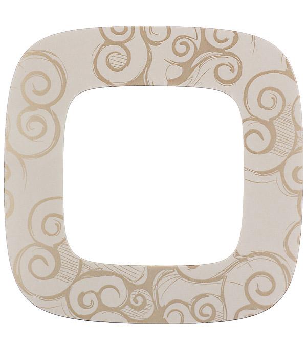 Рамка Legrand Valena Allure 754351 oдноместная универсальная нарцисс золото