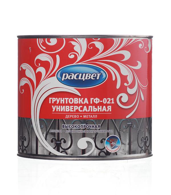 Купить Грунт ГФ-021 серый Расцвет Empils 2, 2 кг, Серый