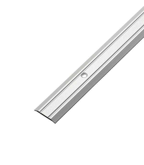 все цены на Порог стыкоперекрывающий 25х900 мм Серебро онлайн