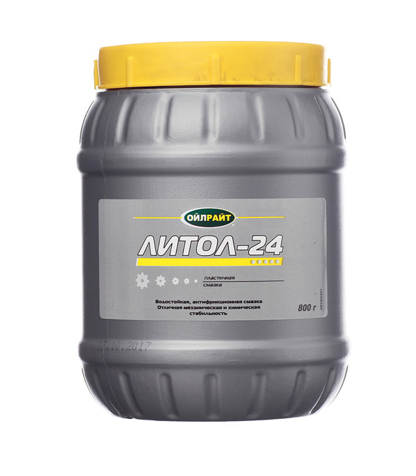 Смазка Литол-24 Oil Right 800 г