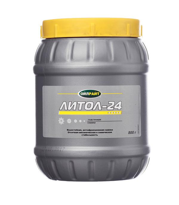 цена Смазка Литол-24 Oil Right 800 г в интернет-магазинах