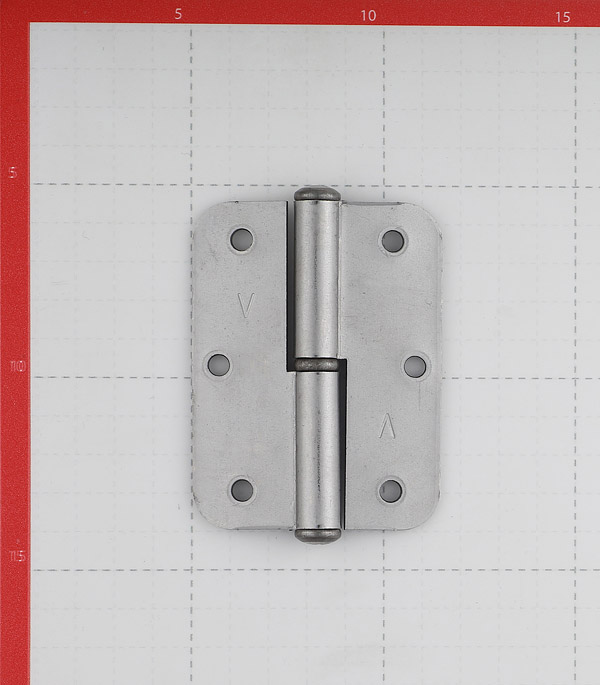 Петля ПН1 левая неразъемная 85х65 мм без покрытия