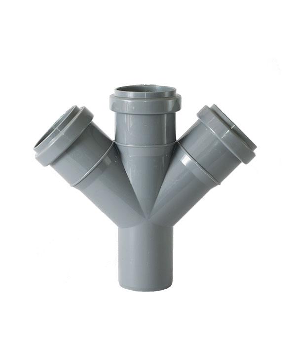 Крестовина внутренняя 50 мм 45° одноплоскостная трехраструбная крестовина внутренняя 50 мм 87° одноплоскостная трехраструбная политэк