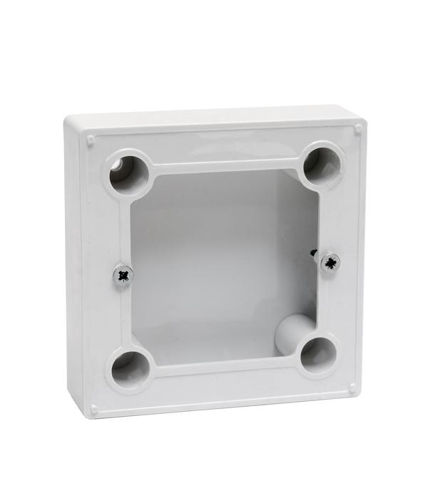 Коробка для о/у терморегуляторов BN-1 белая фотообои bn denim 30704 2 79x2 80