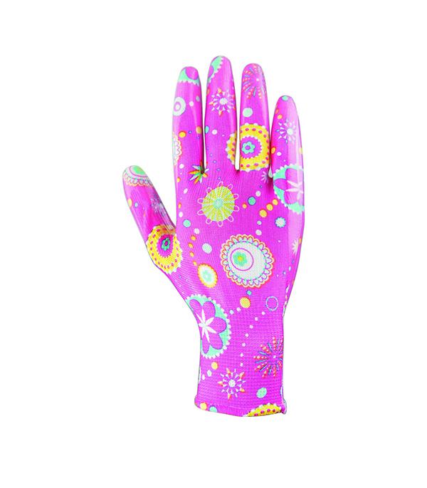 Перчатки из полиэстера с нитриловым обливом размер L перчатки мма everlast перчатки тренировочные prime mma l xl