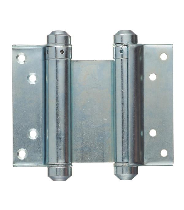 Петля барная оцинкованная 100 мм врезка оцинкованная для круглых стальных воздуховодов d125х100 мм