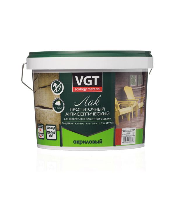 Лак антисептик акриловый VGT вишня 2,2 кг