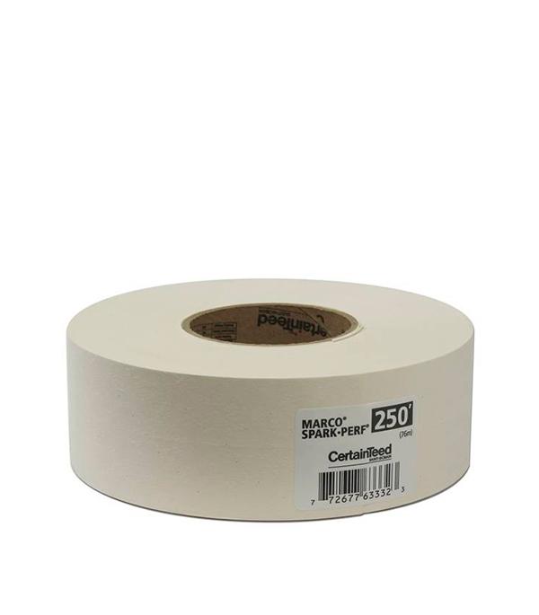 Купить Лента бумажная для швов ГКЛ Gyproc Marco 52 мм х 75 м