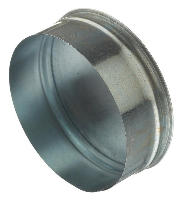 Заглушка оцинкованная d160 мм врезка оцинкованная для круглых стальных воздуховодов d125х100 мм