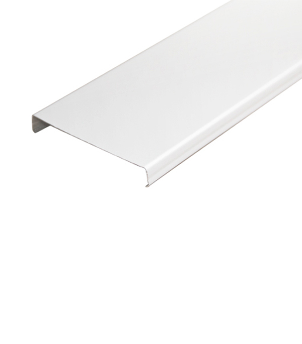 Купить Рейка открытого типа Албес AN 85A 3 м белая глянцевая, Белый глянцевый, Алюминий