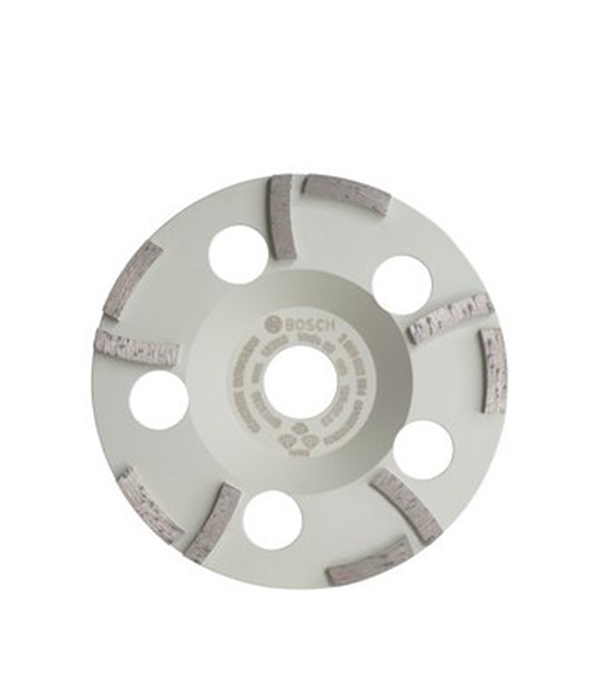 Чашка алмазная для бетона Bosch 125х22 мм Г–образный сегмент чашка алмазная для бетона 125х22 мм turbo
